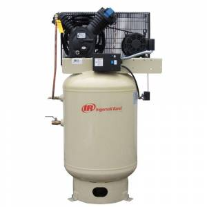 Ingersoll Rand Type 30 Reciprocating 120 Gal. 10 HP Electric 200-Volt 3 Phase Vertical Air Compressor