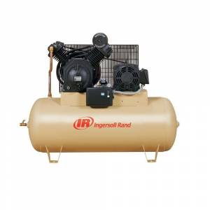 Ingersoll Rand Type 30 Reciprocating 120 Gal. 10 HP Electric 200-Volt 3 Phase Horizontal Air Compressor