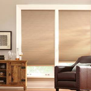 Home Decorators Collection Latte Cordless Blackout Cellular Shade - 50.25 in. W x 64 in. L