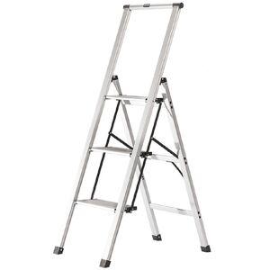 XTEND + CLIMB 3-Step Slimline Aluminum Light Step Stool with 225 lb. Load Capacity Type 2 Duty Rating