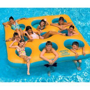 Swimline Labyrinth Island Inflatable Pool Toy, Yellow/Aqua