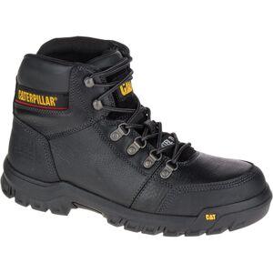 CAT Footwear Men's Outline 6'' Work Boots - Steel Toe - BLACK Size 14(W)