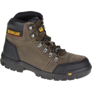 CAT Footwear Men's Outline 6'' Work Boots - Steel Toe - Dark Gull Grey Size 14(M)