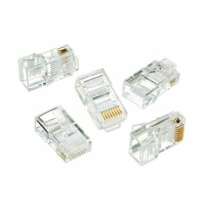 Ideal RJ-45 8-Position 8-Contact Category 5e Modular Plugs (50 per Pack)