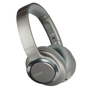 CLEER Flow II Wireless Hybrid Noise-Canceling Bluetooth Headphones with Google Assistant in Gunmetal