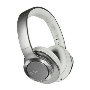 CLEER Flow II Wireless Hybrid Noise-Canceling Bluetooth Headphones with Google Assistant in Light Metallic
