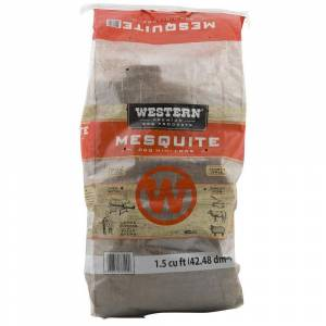 VM INNOVATIONS INC 1.5 cu. ft. Premium BBQ Mesquite Seasoned Logs for Smokers or Grills