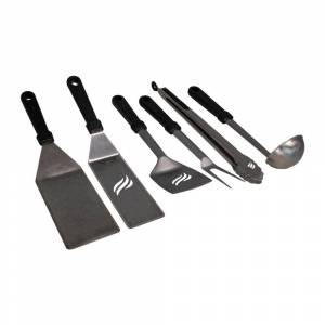 Blackstone 6-Piece Classic Outdoor Cooking Set with XL Handles