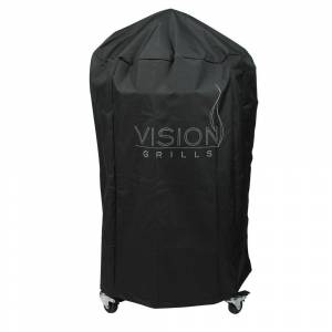 VISION GRILLS Large Grill Cover, Black