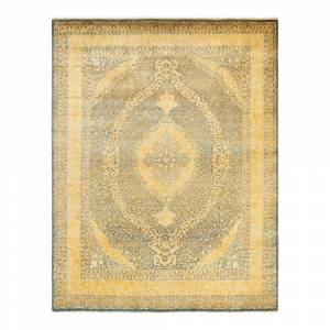 Solo Rugs Mogul One of a Kind Traditional Gray 8 ft. 1 in. x 10 ft. 5 in. Oriental Area Rug