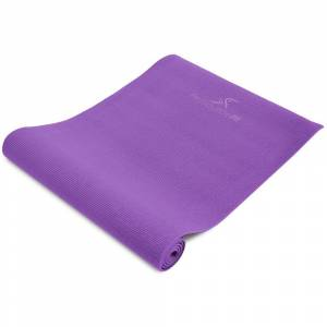 PROSOURCEFIT All Purpose Purple 72 in. x 24 in. x 0.25 in. Original Exercise Yoga Mat with Carrying Straps, Non Slip (12 sq. ft.)