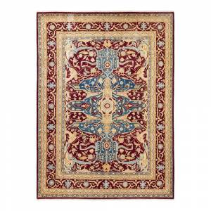 Solo Rugs Mogul One-of-a-Kind Traditional Red 9 ft. 2 in. x 12 ft. 5 in. Floral Area Rug
