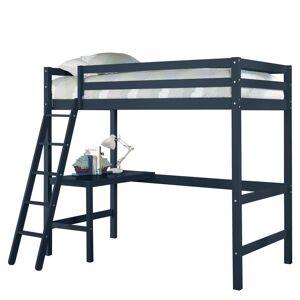 Hillsdale Furniture Caspian Navy Twin Loft, Blue