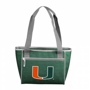 logobrands Miami Crosshatch 16 Can Cooler Tote, Multi