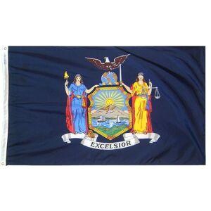 Annin Flagmakers 2 ft. x 3 ft. New York State Flag