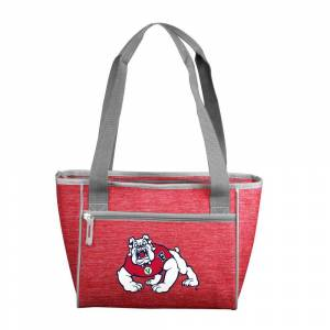 logobrands Fresno State Crosshatch 16 Can Cooler Tote, Multi
