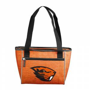logobrands OR State Crosshatch 16 Can Cooler Tote, Multi
