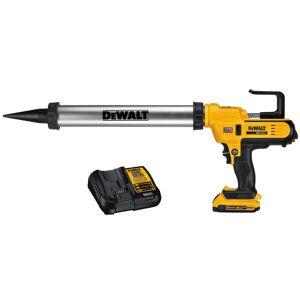 DEWALT 20-Volt MAX Cordless 300-600 ml Sausage Pack Adhesive Gun with (1) 20-Volt 2.0Ah Battery & Charger