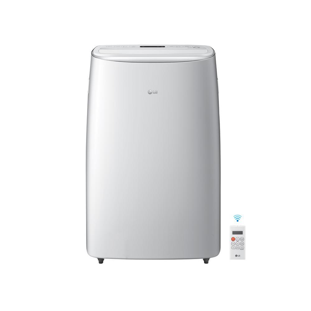 LG Electronics 14000 BTU (10000 BTU DOE) Dual Inverter Portable Air Conditioner in White