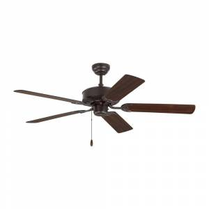 Monte Carlo Haven 52 in. Indoor Bronze Ceiling Fan with Dual Finished Blades