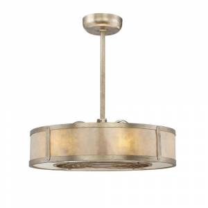 Filament Design 26 in. Silver Dust Air Ionizing Ceiling Fan