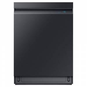 Samsung 24 in. Top Control Tall Tub Dishwasher in Fingerprint Resistant Black Stainless Steel with AutoRelease, 3rd Rack, 39 dBA