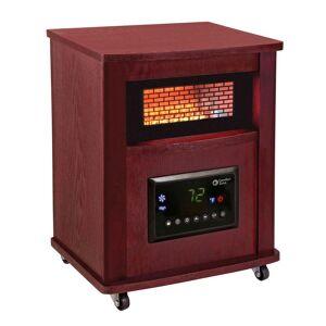 Zone Comfort Zone 16 in. Deluxe Infrared Quartz Heater, Cherry