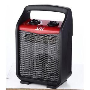 SAI 1,500-Watt Recirculating Utility Heater, Black