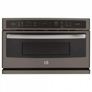 GE Profile 30 in. Single Electric Wall Oven with Advantium Technology in Slate, Fingerprint Resistant, Fingerprint Resistant Slate