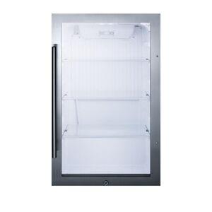 Summit Appliance 19 in. 3.1 cu. ft. Outdoor Refrigerator in Black
