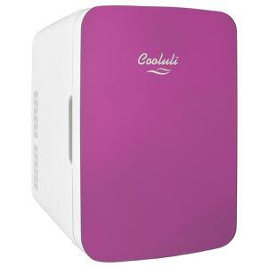COOLULI Infinity 0.35 cu. ft. Retro Mini Fridge in Pink without Freezer