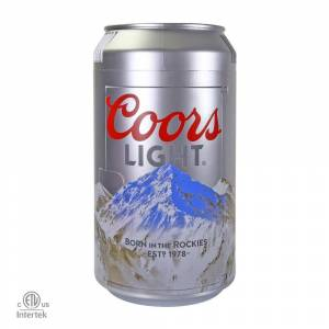 Coors Light 0.65 cu. ft. Mini Fridge in Silver