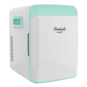 Cooluli Classic 0.35 cu. ft. Retro Mini Fridge in Turquoise without Freezer