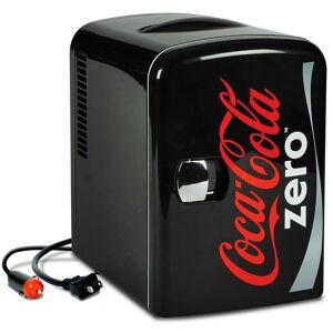 Coca-Cola 0.14 cu. ft. Zero Portable Mini Fridge in Black without Freezer