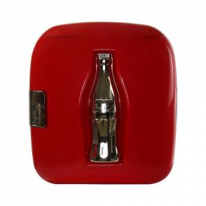 Koolatron Coca-Cola 12 Oz. Heritage Portable 12 Can Personal AC/DC Cooler/Warmer, Red