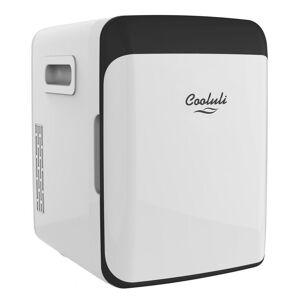 COOLULI Classic 0.35 cu. ft. Retro Mini Fridge in White without Freezer