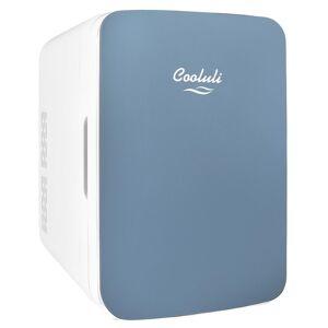 COOLULI Infinity 0.35 cu. ft. Retro Mini Fridge in Blue without Freezer