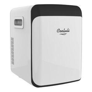 COOLULI Classic 0.53 cu. ft. Retro Mini Fridge in White without Freezer