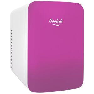 COOLULI Infinity 0.53 cu. ft. Retro Mini Fridge in Pink without Freezer