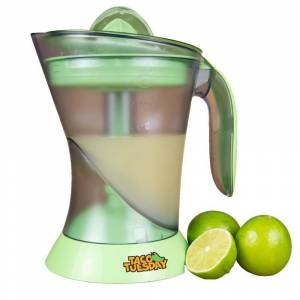 TACO TUESDAY 32 oz. Green Lime Juicer and Margarita Kit