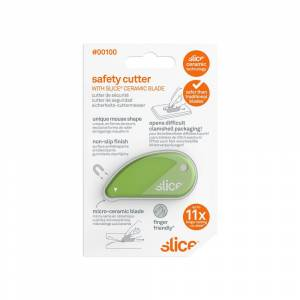 Slice Blade Length 0.08 in. Safety Cutter (Carded) (Pack of 12)
