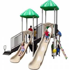 Ultra Play UPlay Today Bighorn Natural Commercial Playset with Ground Spike
