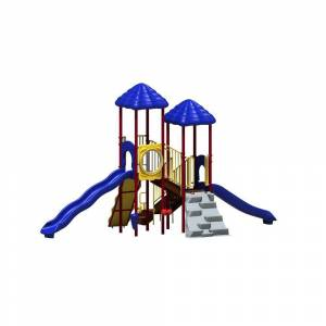 Ultra Play UPlay Today Bighorn Playful Commercial Playset with Ground Spike