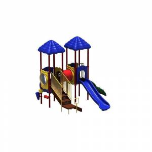 Ultra Play UPlay Today Signal Springs Playful Commercial Playground Playset