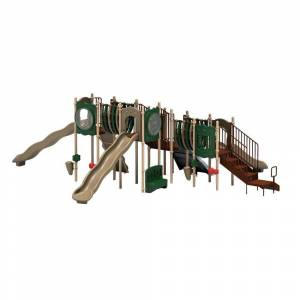 Ultra Play UPlay Today Big Sky (Natural) Commercial Playset with Ground Spike