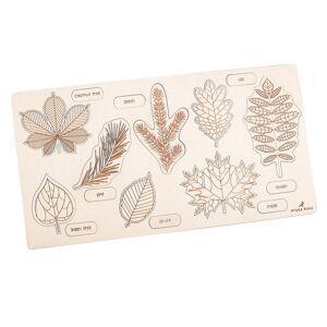 Stuka Puka Leaf Wooden Puzzle