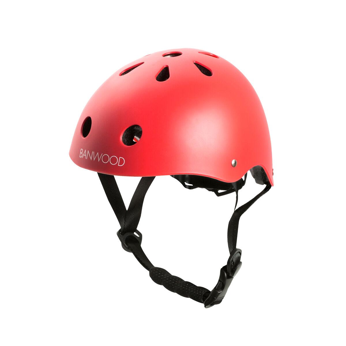Banwood Bikes Classic Helmet (Color: Red)