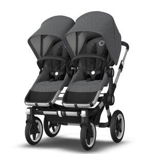 Bugaboo Donkey3 Twin Grey Melange Stroller - Aluminum Frame