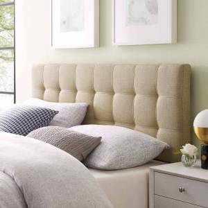 lexmod Lily Upholstered Fabric Headboard