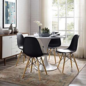lexmod Pyramid Dining Side Chair